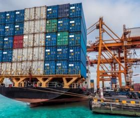 Cargo marine logistics Stock Photo 05