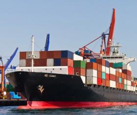 Cargo marine logistics Stock Photo 06