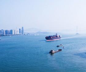 Cargo marine logistics Stock Photo 09