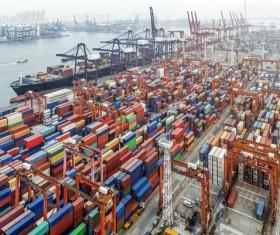 Cargo marine logistics Stock Photo 10