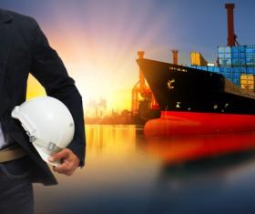 Cargo marine logistics Stock Photo 12