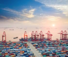 Cargo marine logistics Stock Photo 13
