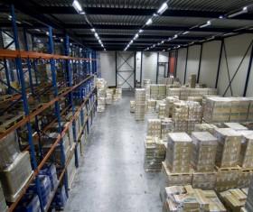 Cargo transport logistics warehouse Stock Photo 01