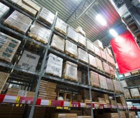 Cargo transport logistics warehouse Stock Photo 02