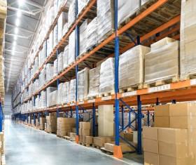 Cargo transport logistics warehouse Stock Photo 03