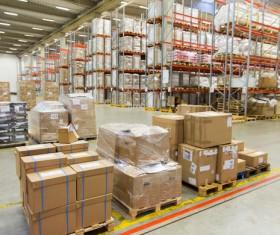 Cargo transport logistics warehouse Stock Photo 04