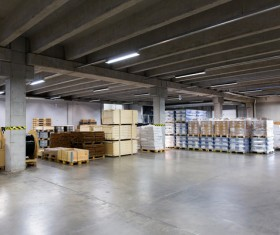 Cargo transport logistics warehouse Stock Photo 05