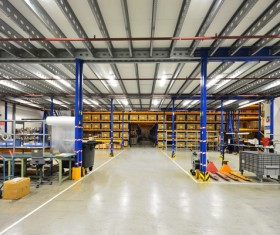Cargo transport logistics warehouse Stock Photo 09
