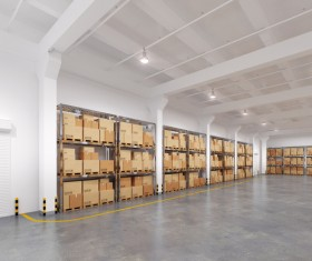 Cargo transport logistics warehouse Stock Photo 15
