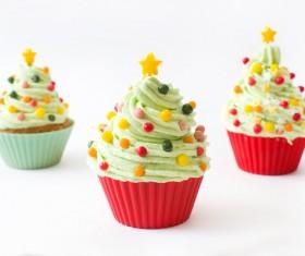 Christmas Cupcake Stock Photo 08