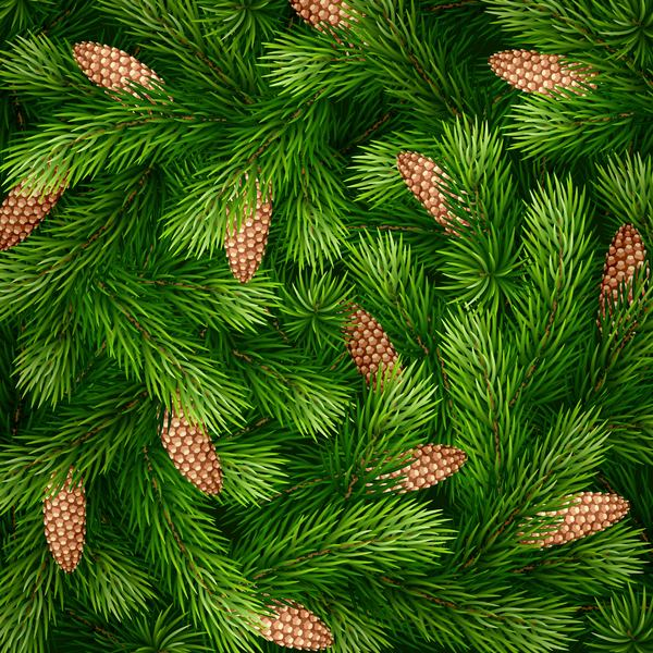 Christmas tree pattern seamless vectors 02