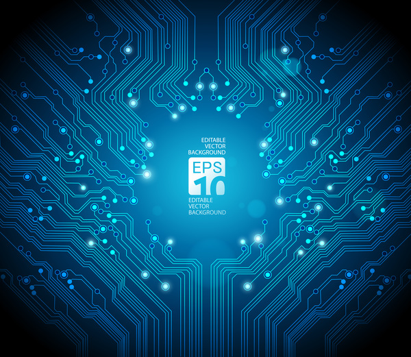 Green Circuit Board Illustration Stock Photos Image 14015573
