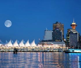 City beautiful night Stock Photo 01