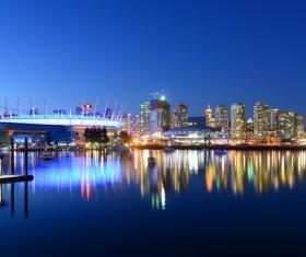 City beautiful night Stock Photo 04
