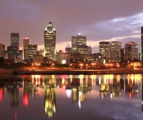 City beautiful night Stock Photo 08