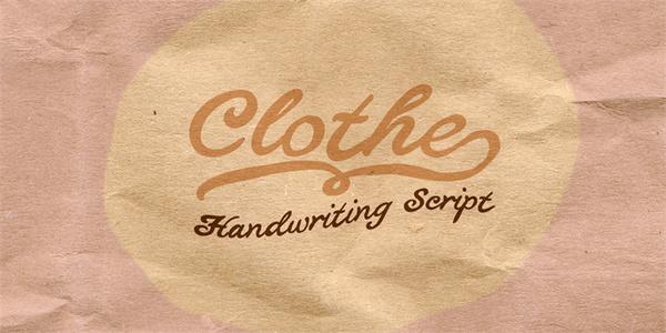 Clothe Font