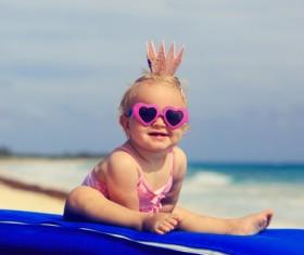Cute little princess Stock Photo