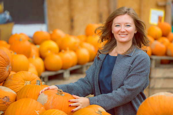 Different varieties of pumpkin Stock Photo 10