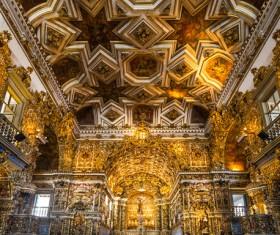 Famous Rio de Janeiro church Stock Photo 01