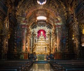 Famous Rio de Janeiro church Stock Photo 02