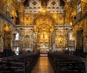 Famous Rio de Janeiro church Stock Photo 03