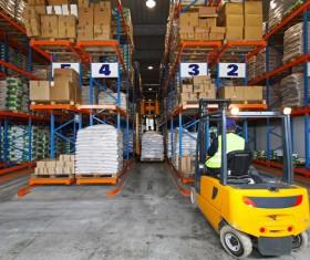 Freight logistics handling Stock Photo 01