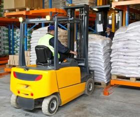 Freight logistics handling Stock Photo 02