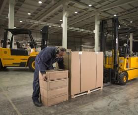 Freight logistics handling Stock Photo 04