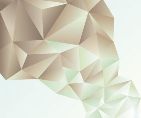 Geometric polygons abstract background vectors material 05