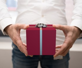 Give Gift Boxes Stock Photo 03