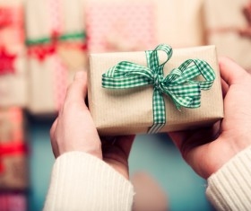 Give Gift Boxes Stock Photo 04