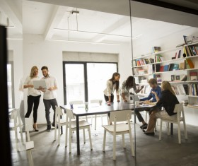 Good atmosphere business meeting Stock Photo 10