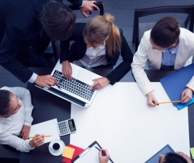 Good atmosphere business meeting Stock Photo 11