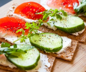 Green healthy food Stock Photo