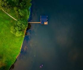 Guntersville Lake in the United States Stock Photo