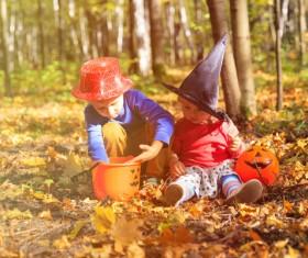 Halloween children Stock Photo 03