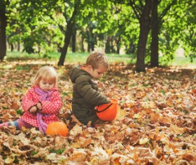 Halloween children Stock Photo 05