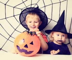 Halloween children Stock Photo 09