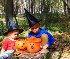 Halloween children Stock Photo 10