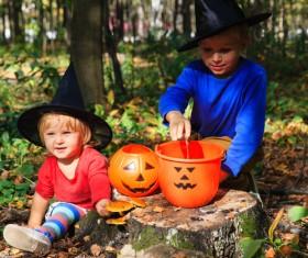 Halloween children Stock Photo 11
