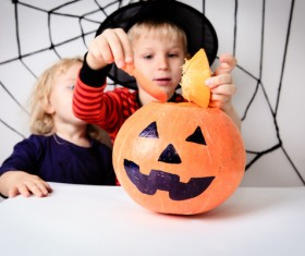 Halloween children Stock Photo 12