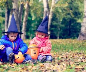 Halloween children Stock Photo 13