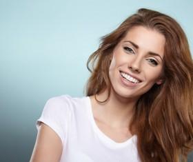 Happy confident woman Stock Photo 03