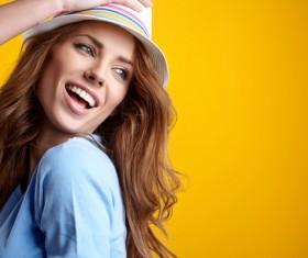 Happy confident woman Stock Photo 04