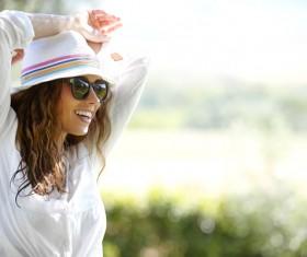 Happy confident woman Stock Photo 05