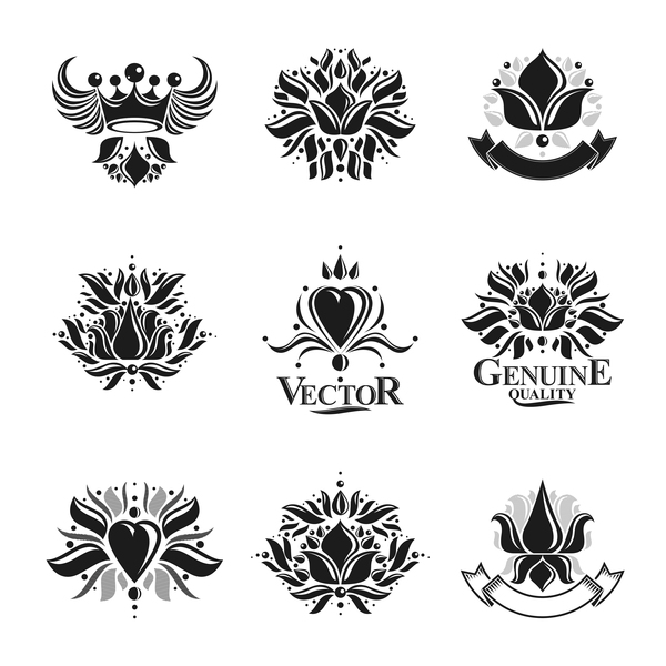 Hight Quality Royal Labels vector 02