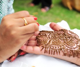 Henna Vector For Free Download