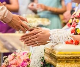 Indian wedding custom Stock Photo 01