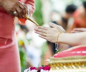 Indian wedding custom Stock Photo 02