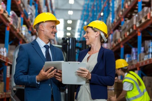 Intelligent logistics management Stock Photo 02
